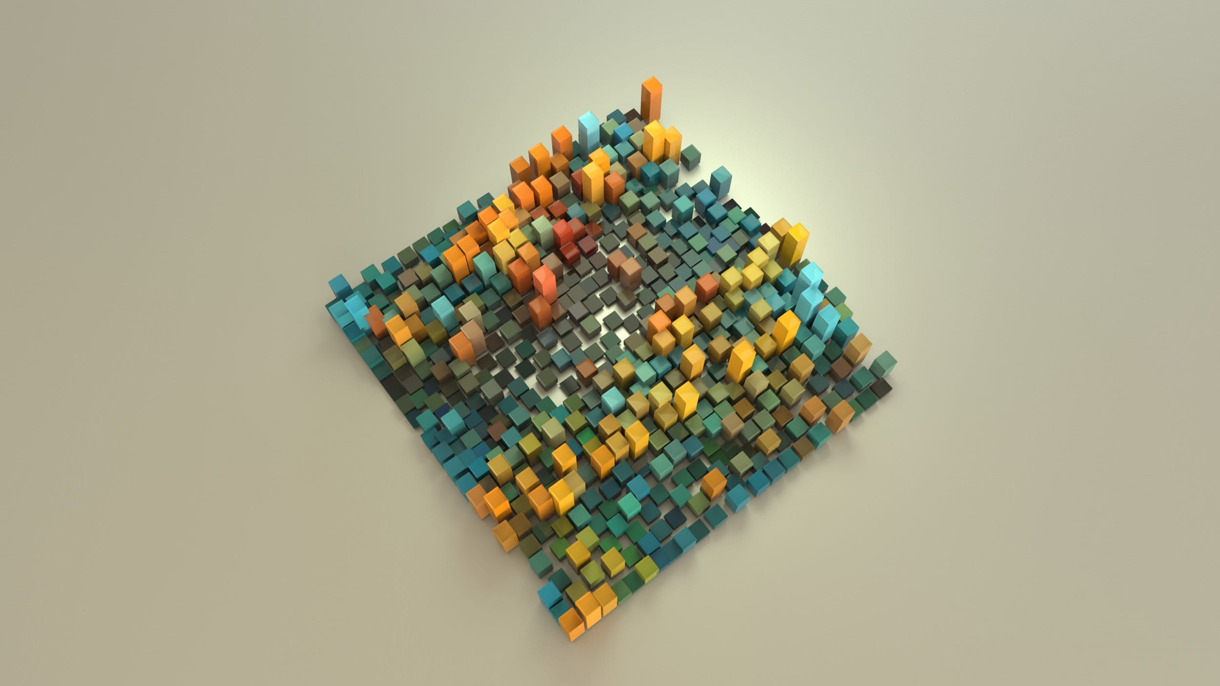 Data Visualization – Serjan Burlak – Houdini – Python – Biogenic 1